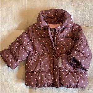 Baby girl puffer jacket